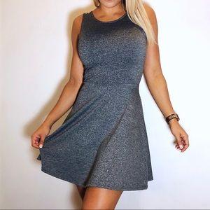 H&M Gray Skater Dress